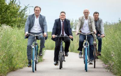 Startschuss für Radschnellweg Halle-Leipzig